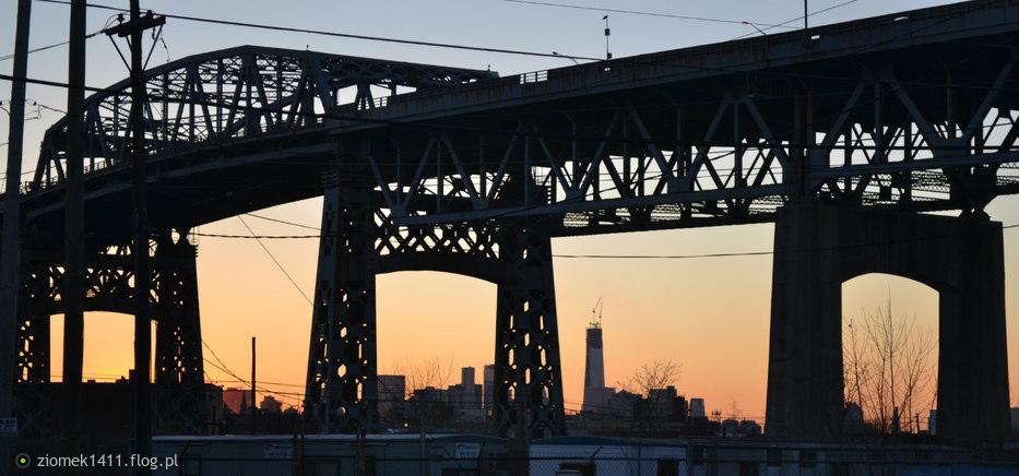 Most z widokiem na...