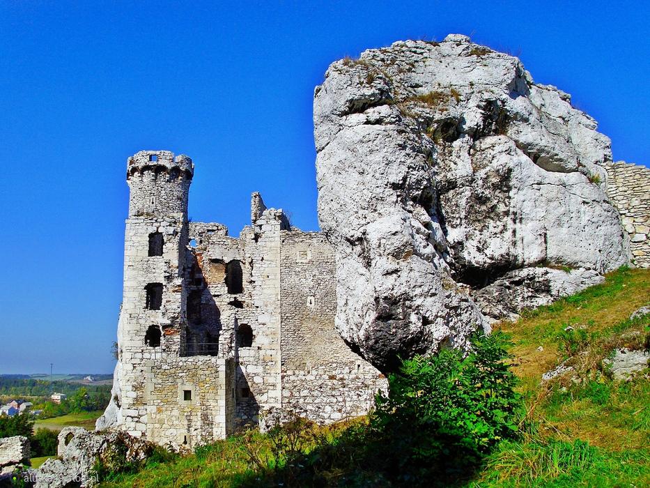 Ruiny zamku w Ogrodzieńcu.