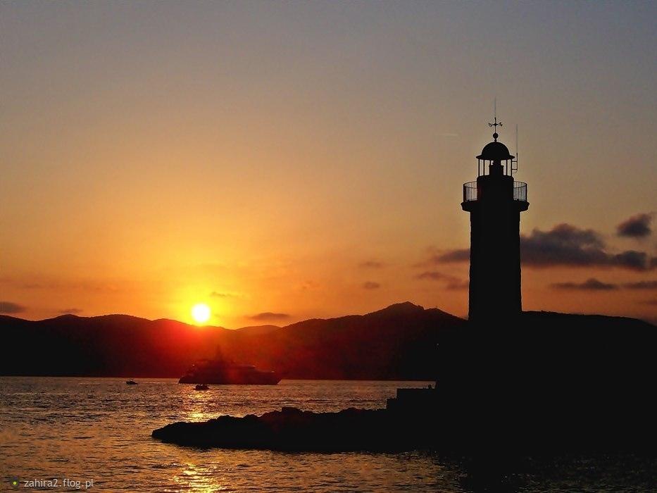 Zachód w Saint Tropez:)