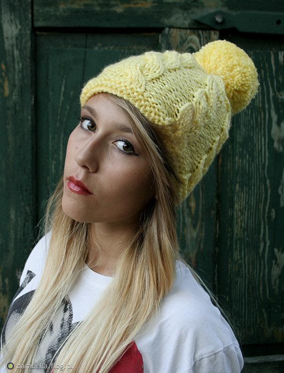 Tag: czapka z pomponem morska handmade zimowa rękodzieło