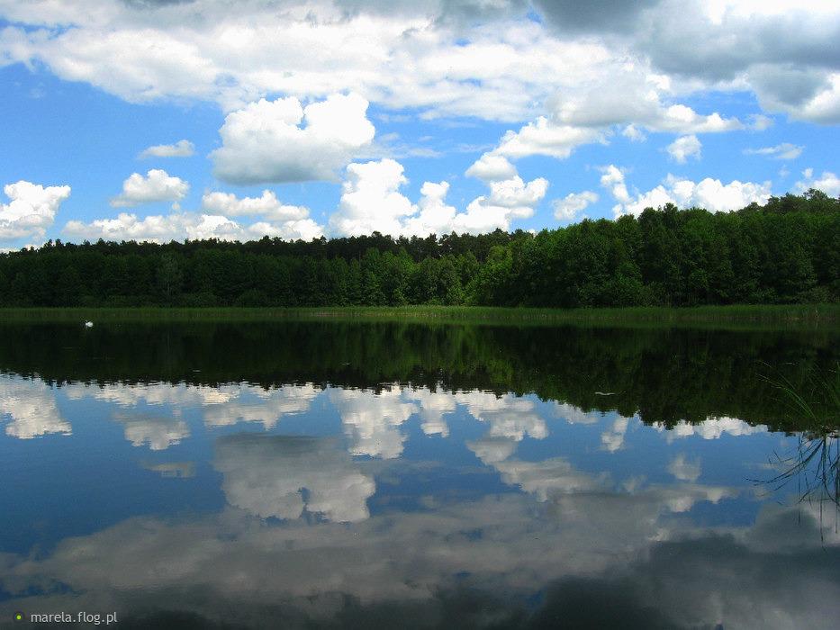 """Jezioro """"Czyste"""" kolo Przyjezierza - moje ulubione..."""