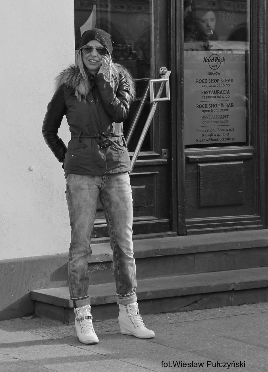 Kraków street photo....hard rockowo