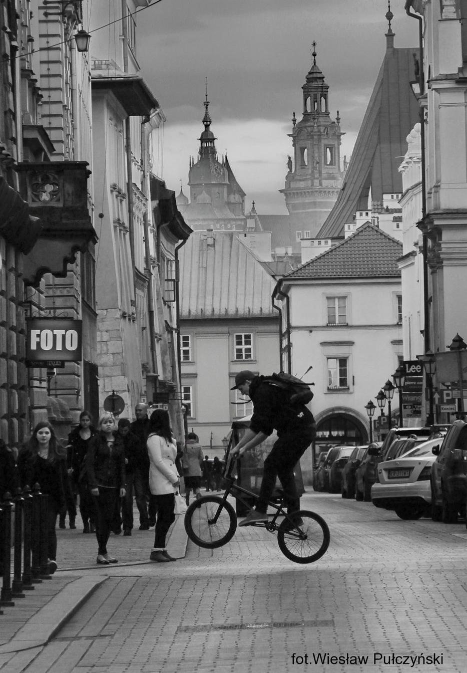 Kraków street photo....ulica Szpitalna