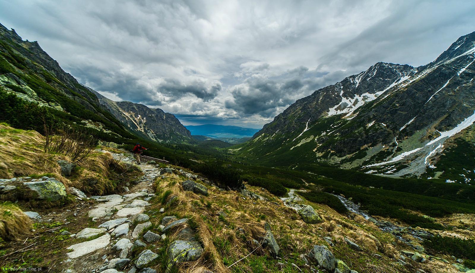 W drodze na Rysy - Tatry Słowackie