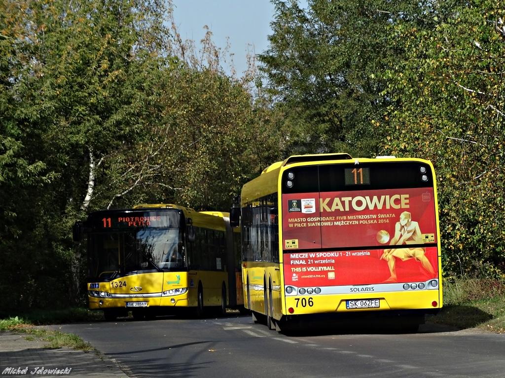 Solaris Urbino 15 #706 & Solaris Urbino 18 #1324