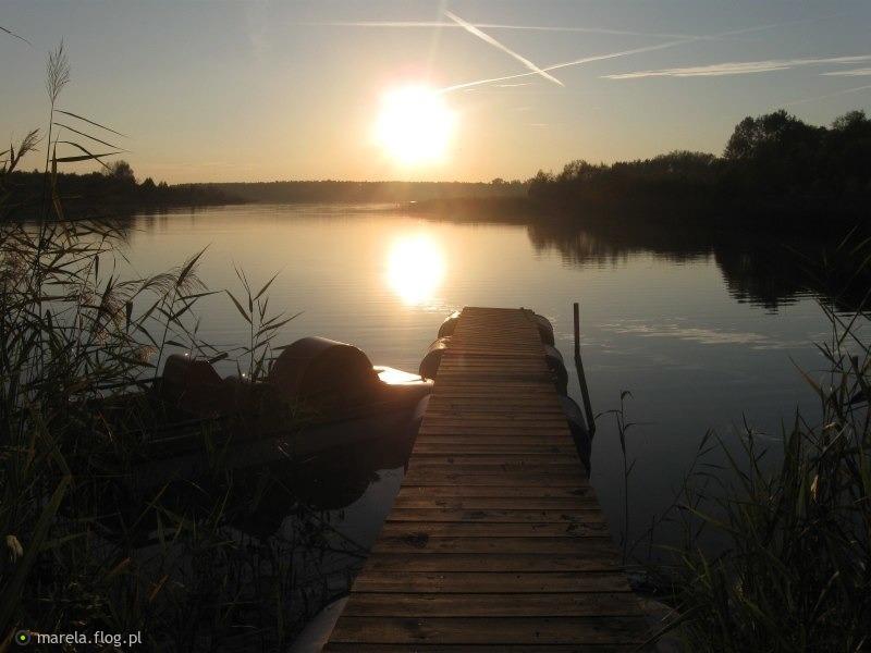 Senne jezioro...