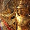 Bangkok VI :: rzeźba na jednym z pałaców w kompleksie The Grand Royal Palace w Bangkokuhttp://www.abcbangkok.pl/wi