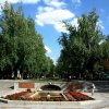 Dla  Kasi  w  podziękowan<br />iu  za  piękną  gałązkę k<br />witnącej  wiśni - Park  R<br />etiro   w  Madrycie - wid<br />ok  na  wejście-  Avenida<br />  de  Mexico.