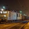 ET42-020 :: 14 lutego 2014 - Czapajew<br /> z węglarkami podczas wym<br />iany maszynistów na stacj<br />i w Czechowicach.