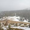 Brona we mgle :: 8 marca 2014. Na Cylu spę<br />dziliśmy 1.5h, podczas sc<br />hodzenia do przełęczy znó<br />w nadciągnęły chm