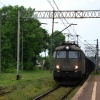 ET22-955 :: 24.05.2014   ET22-955 spó<br />łki CTL Logistics ze skła<br />dem węglarek mija na bieg<br />u stację Wronki i zmierza
